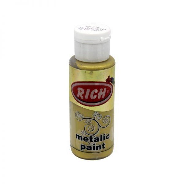 Μεταλλικά χρώματα Rich 70 ml