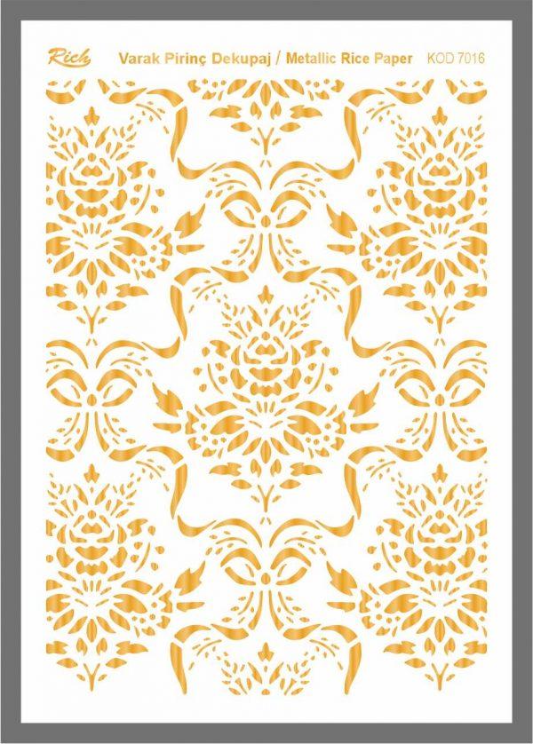 Ριζόχαρτο Rich Gold 29x41 cm 7016