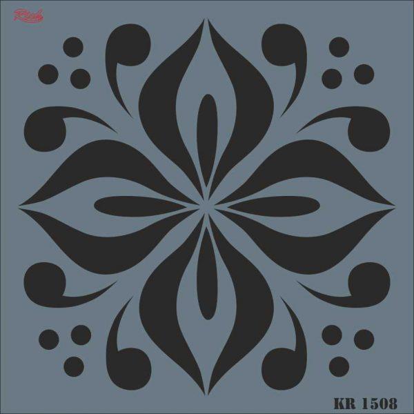 Stencil Rich Tile Serie 30x30 cm KR1508